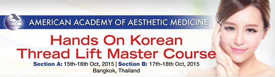 Korean Thread Lifting Master Course - Hands on